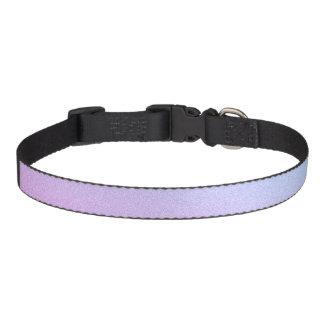 Pastel Ombre Glitter Pet Collar