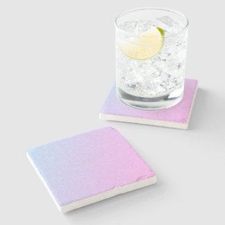 Pastel Ombre Glitter Stone Coaster