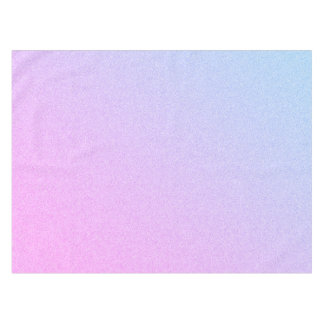 Pastel Ombre Glitter Tablecloth