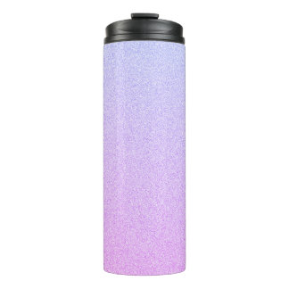 Pastel Ombre Glitter Thermal Tumbler