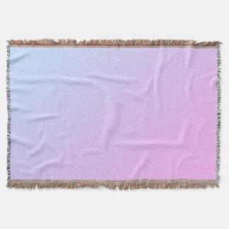 Pastel Ombre Glitter Throw Blanket