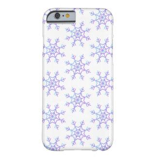 Pastel Ombré Snowflake Pattern Phone Case