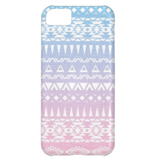 Pastel Ombre Tribal Pattern Aztec inspired Design iPhone 5C Cases