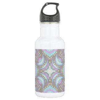 Pastel on Concrete Street Mandala 532 Ml Water Bottle