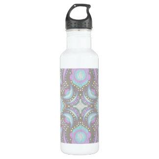 Pastel on Concrete Street Mandala 710 Ml Water Bottle