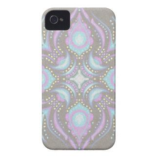 Pastel on Concrete Street Mandala Case-Mate iPhone 4 Case