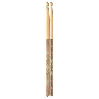 Pastel on Concrete Street Mandala Drumsticks