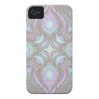 Pastel on Concrete Street Mandala iPhone 4 Cover