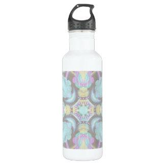 Pastel on Concrete Street Mandala (variation) 710 Ml Water Bottle