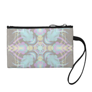Pastel on Concrete Street Mandala (variation) Coin Purse