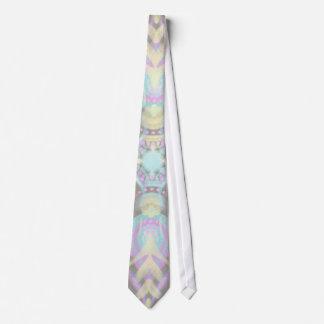 Pastel on Concrete Street Mandala (variation) Tie