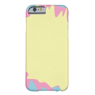 Pastel Paint Splatter Barely There iPhone 6 Case