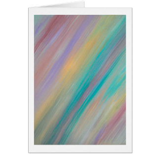 Pastel Painting - Blank Inside Card