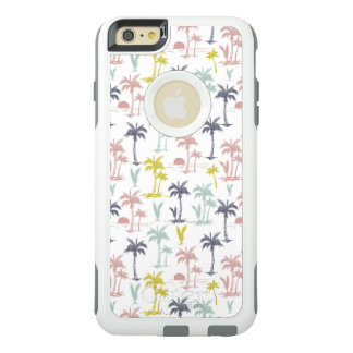 Pastel Palm Tree by the Beach Pattern OtterBox iPhone 6/6s Plus Case