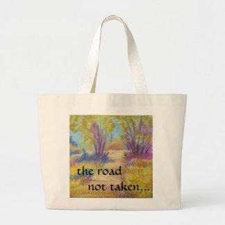 Pastel Path Tote Bag