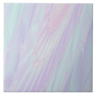 Pastel Pattern Fractal - Sea Shell Style. Tile