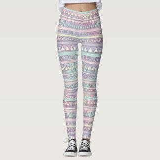 Pastel Patterned Leggings