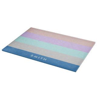 pastel peach purple mint grey blue color block boards