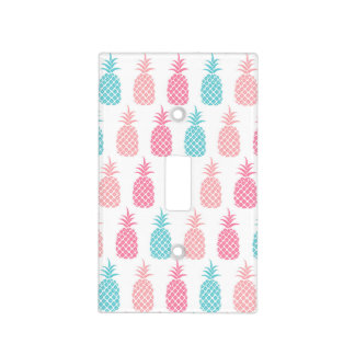 Pastel Pineapples Light Switch Cover