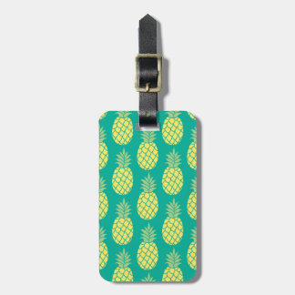 Pastel Pineapples Luggage Tag