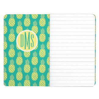 Pastel Pineapples | Monogram Journals