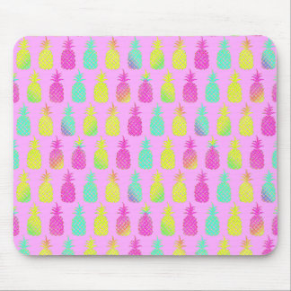 Pastel Pineapples Mouse Pad