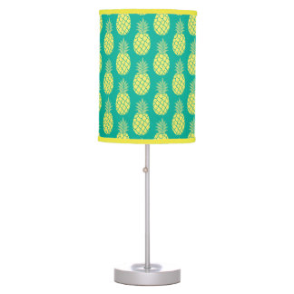 Pastel Pineapples Table Lamps