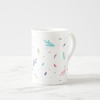 Pastel Pines Tea Cup