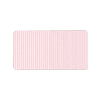 Pastel Pink Candy Stripes.