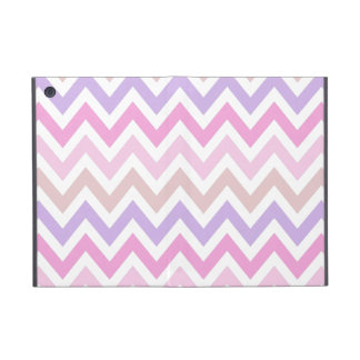 Pastel Pink Chevoren pattern Covers For iPad Mini
