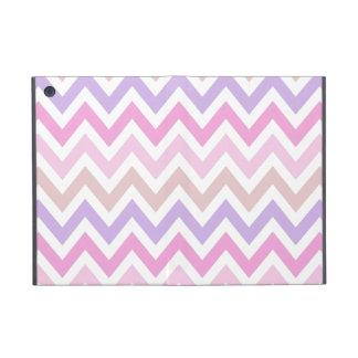 Pastel Pink Chevoren pattern iPad Mini Case