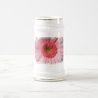 Pastel Pink Daisy  Beer Steins