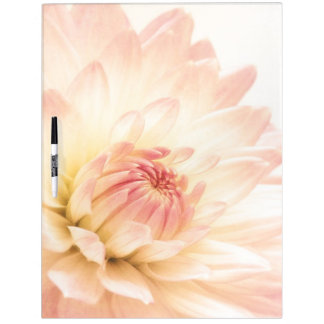 Pastel Pink Flower Dry Erase Board