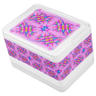 Pastel Pink Kaleidoscope Pattern Abstract