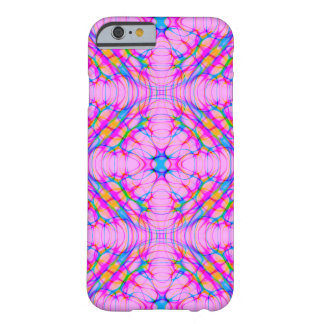 Pastel Pink Kaleidoscope Pattern Abstract Barely There iPhone 6 Case
