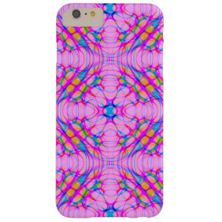 Pastel Pink Kaleidoscope Pattern Abstract Barely There iPhone 6 Plus Case