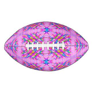 Pastel Pink Kaleidoscope Pattern Abstract Football