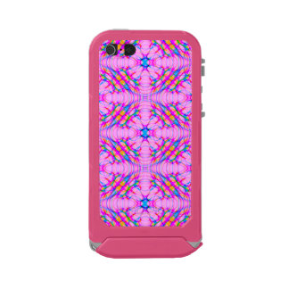 Pastel Pink Kaleidoscope Pattern Abstract Incipio ATLAS ID™ iPhone 5 Case