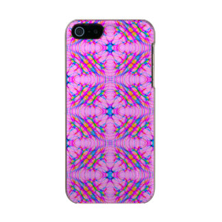 Pastel Pink Kaleidoscope Pattern Abstract Incipio Feather® Shine iPhone 5 Case