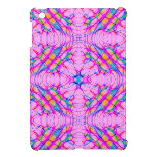 Pastel Pink Kaleidoscope Pattern Abstract iPad Mini Covers