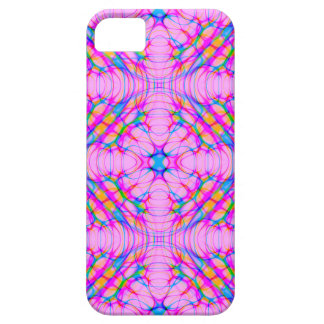 Pastel Pink Kaleidoscope Pattern Abstract iPhone 5 Cover