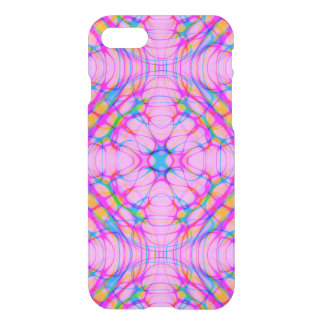 Pastel Pink Kaleidoscope Pattern Abstract iPhone 8/7 Case