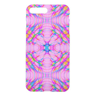 Pastel Pink Kaleidoscope Pattern Abstract iPhone 8 Plus/7 Plus Case