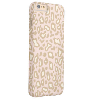 Pastel Pink Leopard iPhone 6 Plus Case