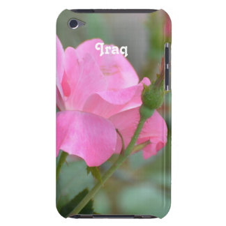 Pastel Pink Rose in Iraq iPod Touch Cover