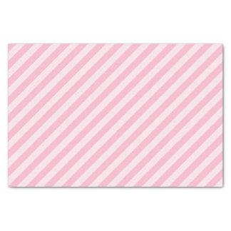 Pastel Pink Striped Tissue Paper