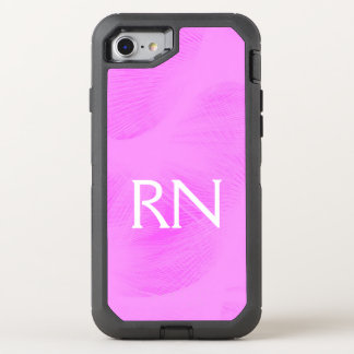 Pastel Pink Swirl RN phone case