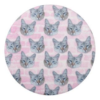 Pastel Pink Tito Cat Eraser