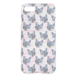 Pastel Pink Tito Cat iPhone 8/7 Case