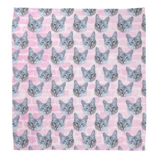 Pastel Pink Tito Cat Kerchiefs